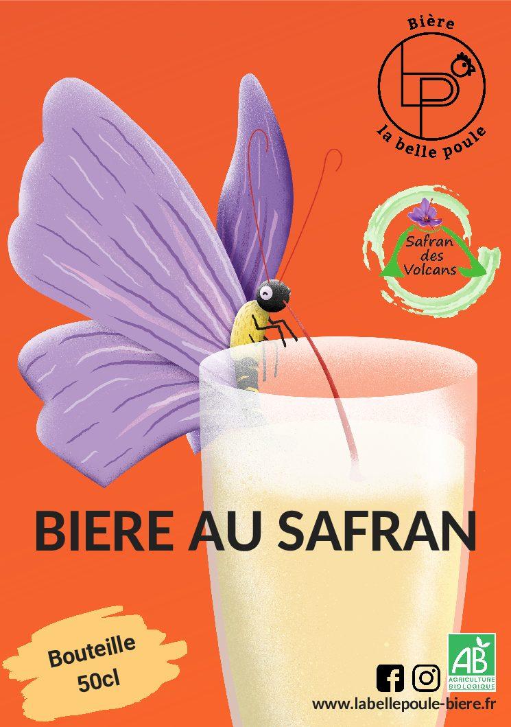 Bière au Safran